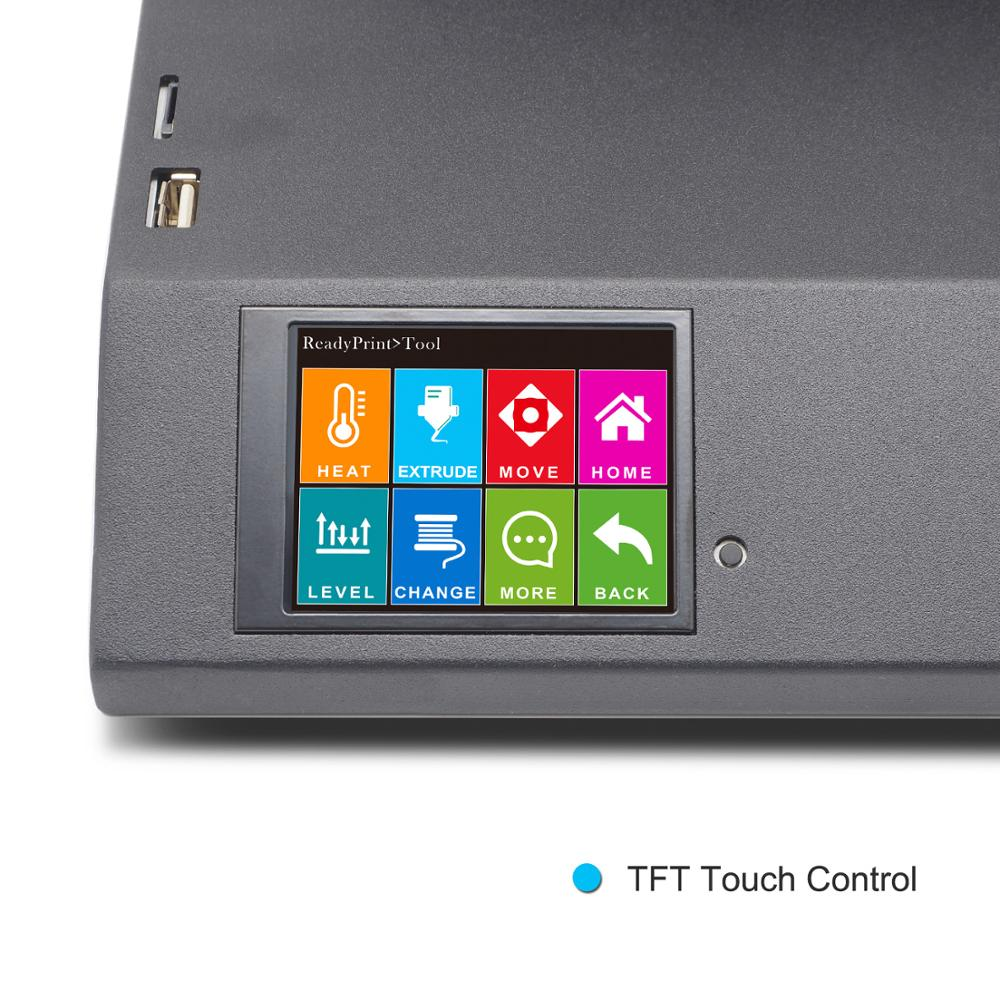 Imprimante 3D Sidewinder X1 SW-X1 300x300x400mm grande grande taille haute précision double Z axe TFT écran tactile - 4
