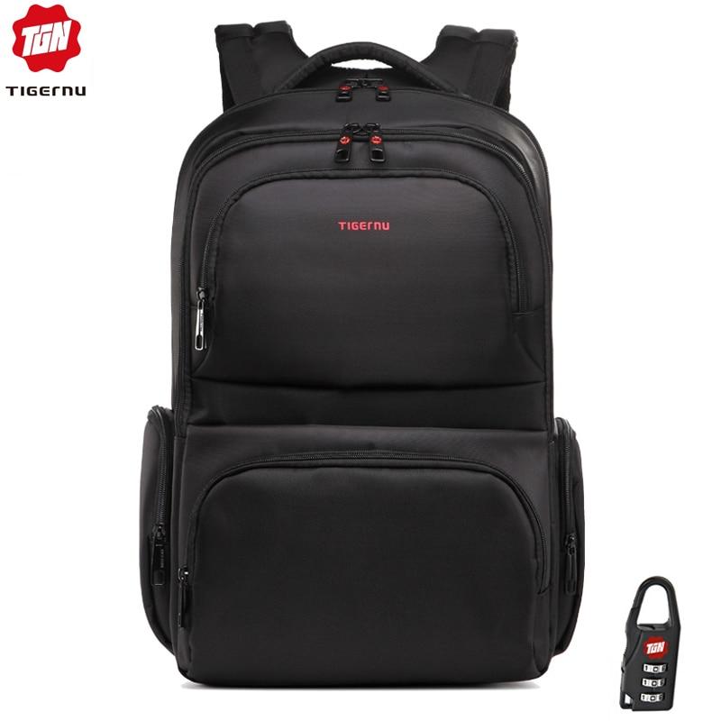 tigernu t b3140 backpack - Tigernu Anti theft 15.6 Waterproof Nylon Mens Backpacks Women Backpack Schoolbag for 15 Laptop Notebook Bag Mochila Feminina