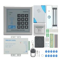 Горячая TZAD2000M-02 RFID система контроля допуска к двери комплект, домашняя система безопасности с 280 кг Электрический магнитный замок питания ...