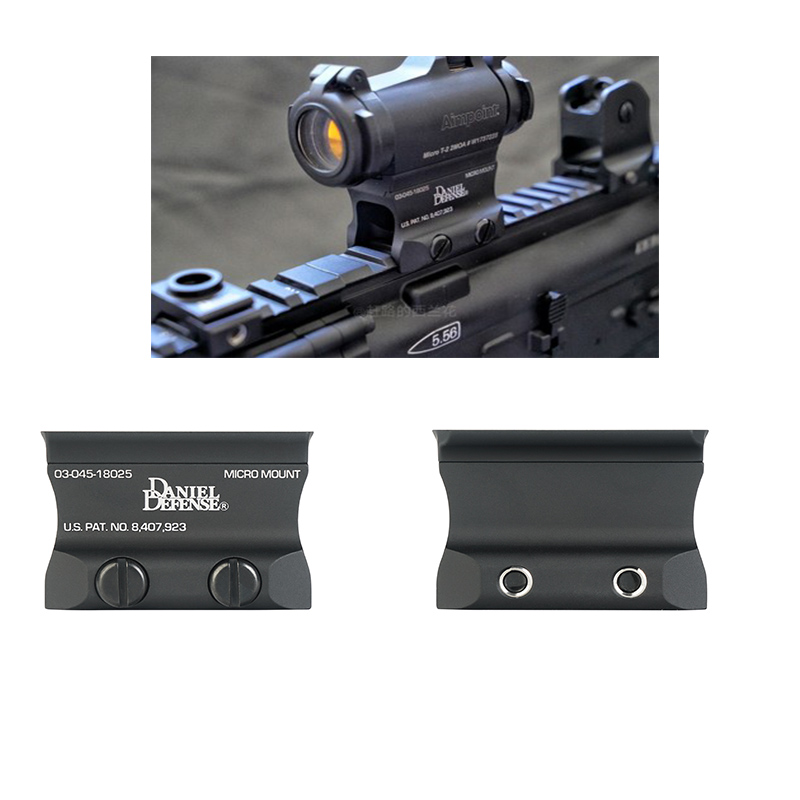 T2 T1 MICRO mount heightening bracket red dot sight F1 Mount for Airsoft T1 / T-1 / T2 / T-2 / TARGET TR02