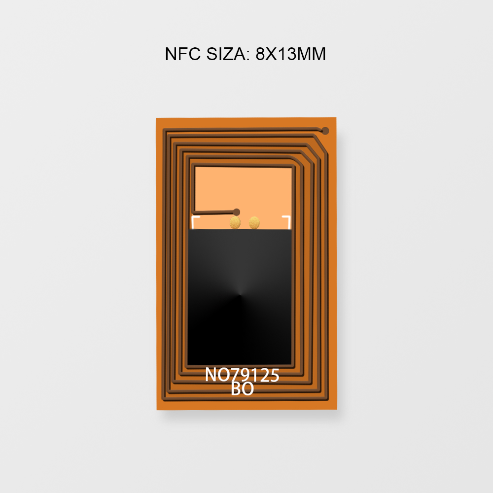 10 قطعة مصغر يقترن بطاقات شعارات NFC علامات معدنية عالية التردد مقاومة