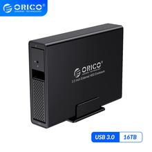 ORICO 95 Series 3.5 inch 1 Bay HDD Enclosure Aluminum USB3.0 to SATA 16TB HDD Docking Station with 24W External Power Supply