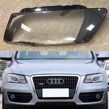 ไฟหน้ารถสำหรับ Audi Q5 2010 2011 2012 ไฟหน้ารถเปลี่ยนด้านหน้า AUTO SHELL COVER