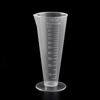1PC 100ml Laboratory Bottle Lab Kitchen Plastic Measuring Cup Measuring Cup M5TB 1pc 100ml laboratory bottle lab kitchen plastic measuring cup measuring cup