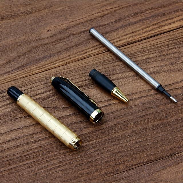 Metal pen black business orb pen ball-point pen 3
