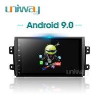 Uniway PX30 DSP Android 9.0 car dvd navigation for Suzuki SX4 2006 2007 2008 2009 2010 2011 2012 2013 car radio gps navigation
