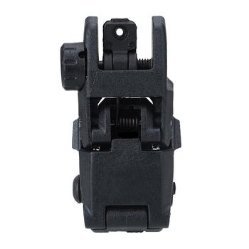 Tactical Folding Front Rear Sight Flip Up Backup Sights BuiS Set Hunting Accessories 4