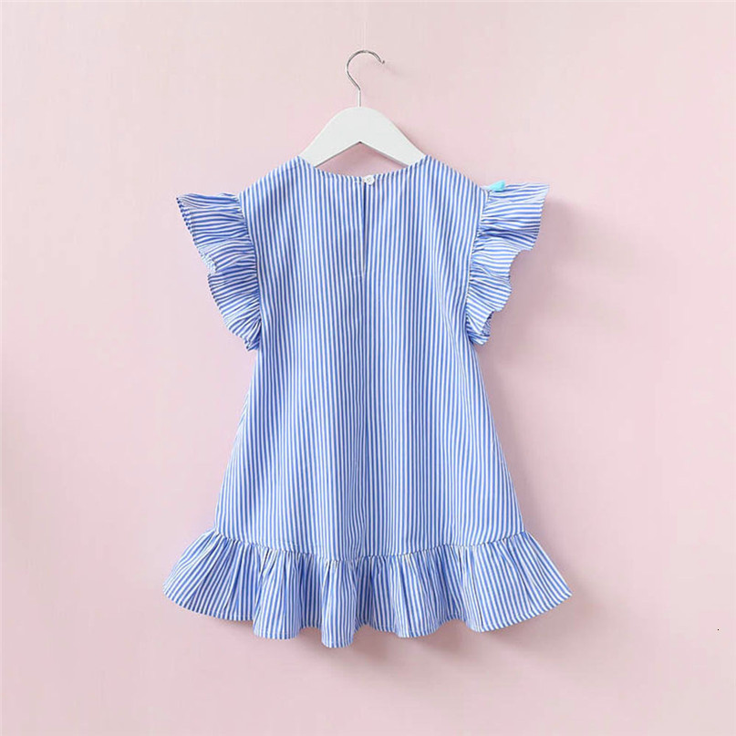 H022652508b69477499fe1124954decf3n Kids Dresses Girls 2017 New Fashion Sweater Cotton Flower Shirt Short Summer T-shirt Vest Big For Maotou Beach Party Dress