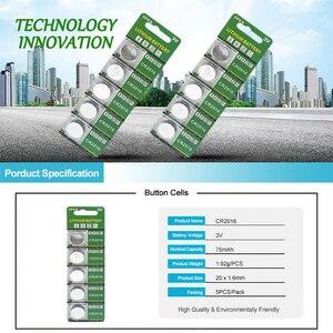 Image 3 - PUJIMAX original 15Pcs Lithium Battery 15PCS/LOT 3V Li ion CR2016 Button Battery Watch Coin Batteries cr2016 DL2016 ECR2016 GPCR