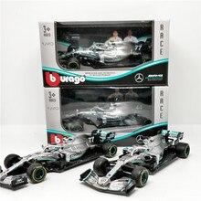 BBurago 1:43 F1 2019 Benz AMG Petronas W10 EQ Power Formula one Racing Diecast Auto