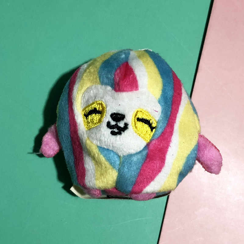 Pikmi pops lollipop caixa cega boneca de pelúcia fragrância tecido animal bonito saco de areia pingente a granel