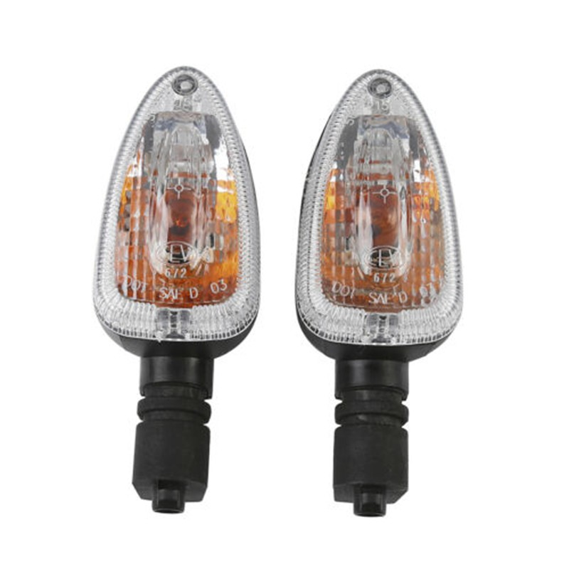 Motorcycle Clear/Orange/Smoke Turn Indicator Signal Light For BMW R1200GS 2004 2007 R1200R 2007 2012 08 09 10 11   - title=