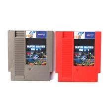 SONGFINN 150 In 1 Mit Rockman 1/2/3/4/5/6 Rot/Grau 72 Pins Spiel Karte Für 8 Bit Spiel-Player