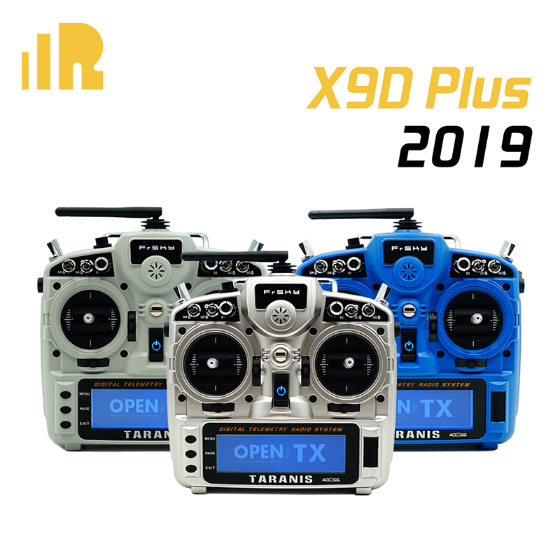 New Version FrSky Taranis X9D Plus 2019 2.4G 24CH ACCESS ACCST D16 Transmitter For RC Drone
