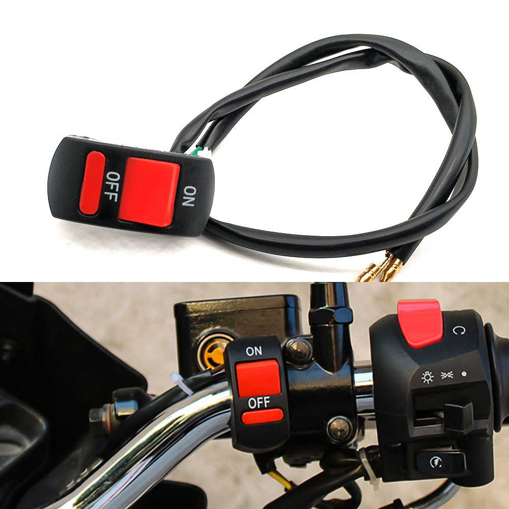 Universal Motorcycle Handlebar Flameout Switch ON OFF Button For Suzuki GSF 1200 1250 650 BANDIT GSX 1250 1400 650F GSR 600 750