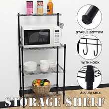 Over The Rack Toilet Cabinet Shelving Kitchen Washing Machine Rack Bathroom Space Saver Shelf Organizer Holder