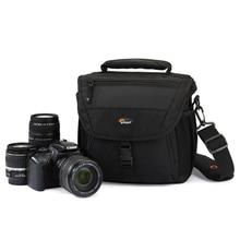 Offre spéciale livraison gratuite véritable Lowepro Nova 170 AW caméra sac unique sac à bandoulière sac à dos avec couverture tous temps