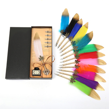 European senior feather pen Harry Potter dip gift box loaded with British style, send colleagues to lovers gifts