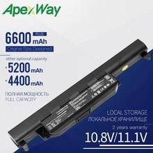 Apexway Аккумулятор для ноутбука ASUS X75A X75V X75VD X45VD X45V X45U X45C X45A U57VM U57A X55U X55C X55A A32-K55 X55V X55VD 6 ячеек
