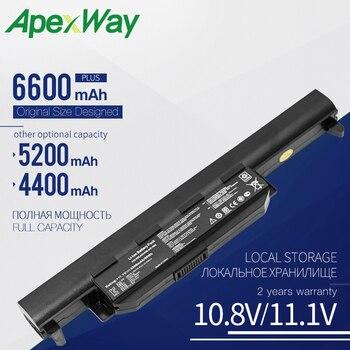6CELL New Laptop battery A32-K55 A41-K55 For Asus X75A X75V X75VD X45VD X45V X45U X45C X45A U57VM U57A X55U X55C X55A X55V X55VD new laptop cooling fan for asus x55 14mm x55v x55vd x45c x45vd r500v k55vm for discrete video card p n ksb06105hb cpu cooler