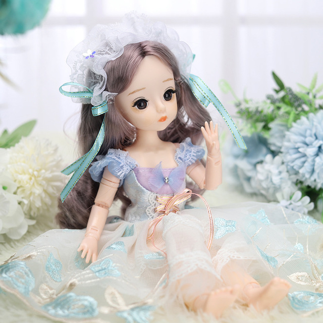 12 Inches Princess 30cm Joints BJD Suit Series Doll Toys for Girls Children Birthday Christmas Gifts 3