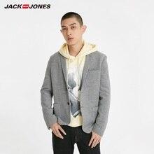 Chaqueta JackJones de algodón 100% de dos botones ajustada para hombre, chaqueta de estilo básico para hombre 219108509