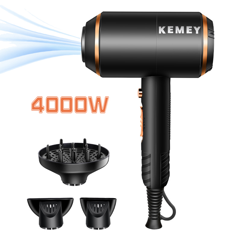 Hair-Dryer Power Electric Professional 4000 210-240V Salon-Tools Wind-Barber 40D