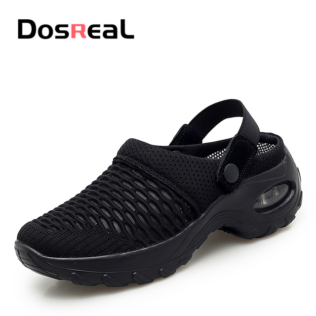 Dosreal Women Summer Platform Sandals Females Air Cushion Casual Sneakers Ladies Outdoor Fashion Shake Shoes Comfort Slippers