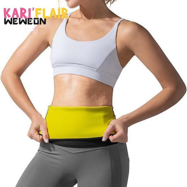 Women Waist Trainer Belt Slimming Sweat Body Shaper Girdle Neoprene Waist Cincher Modeling corset Strap for Fat Burning