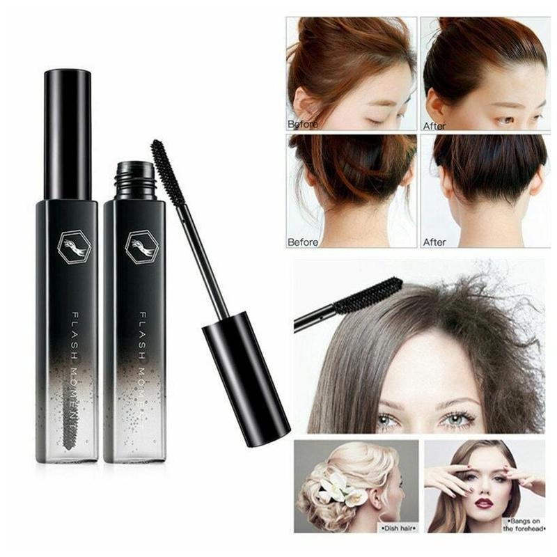 1PC Hair Finishing Stick Small Comb Lasting Keeping Hair Style Fix Combing Styling Cream Hair Mascara