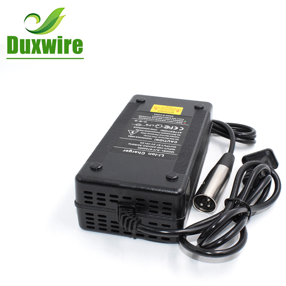 29.4V 5A Li-ion Battery Charger Input AC 100-240V for Electric Bike Scooter
