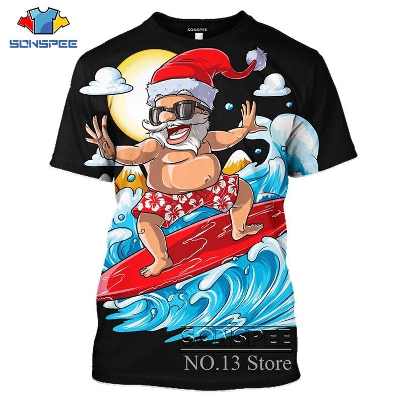 tee Santa Christmas Unisex Sweatshirt