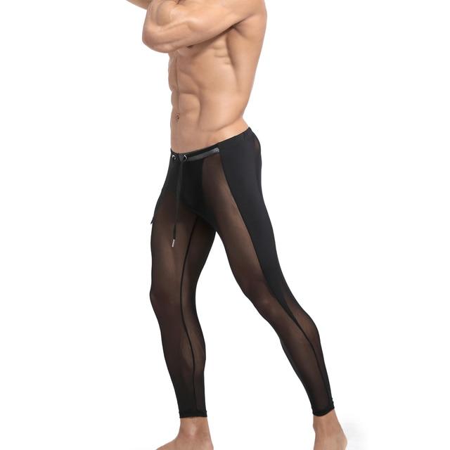 Men's 2021 Long johns Seamless Legging Track Fitness Sports Leggings Men Compression Workout Comression Jogging 6Colors 2