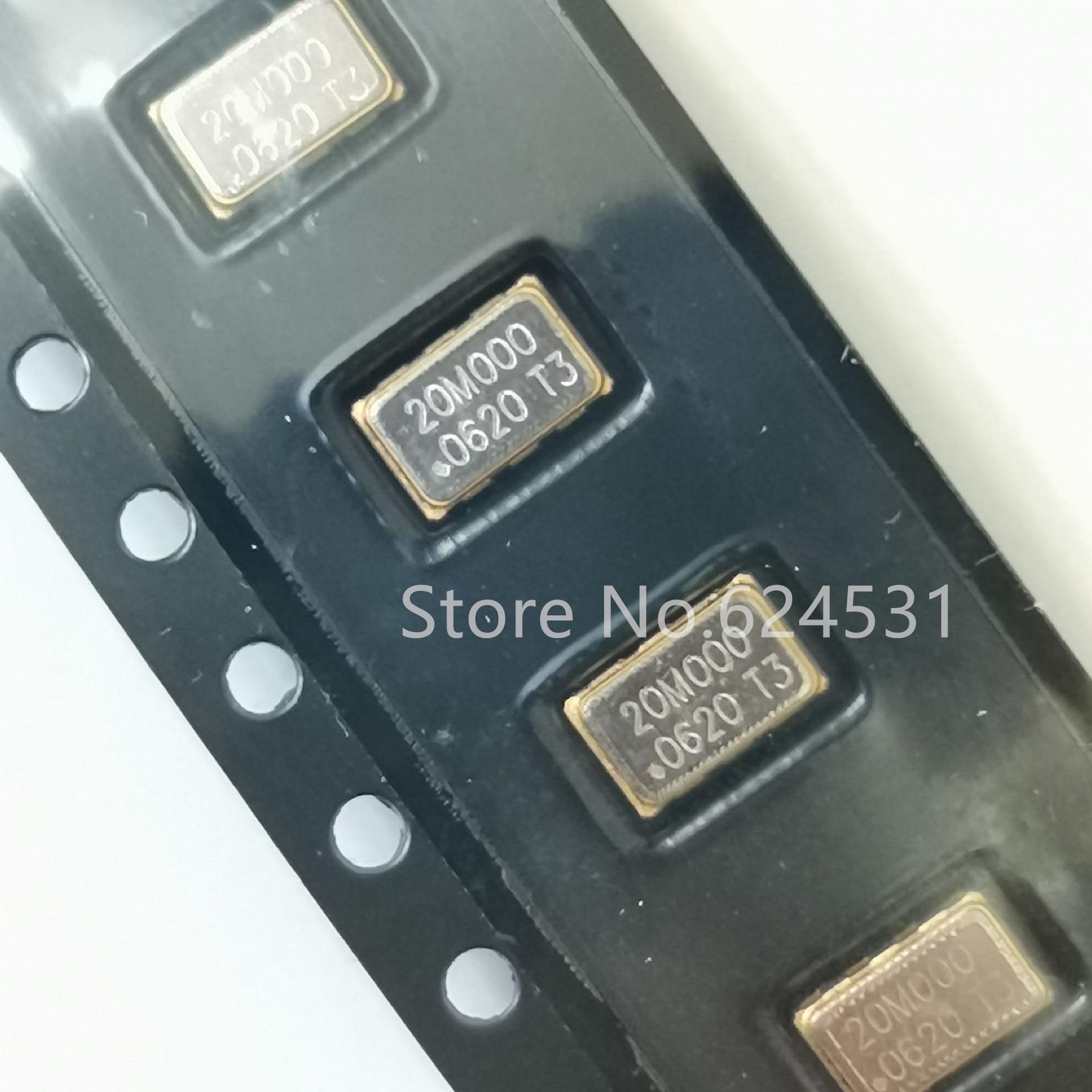 5pcs Patch Active Temperature Compensation Crystal 5032 5*3.2 TCXO 20MHZ 20.000MHZ 20M Resonator