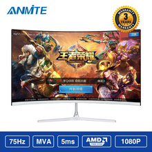 Anmite 21 5 22 inch TFT Lcd FHD Hdmi Curved monitor ultra thin Led computer display
