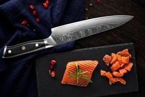 Image 2 - XITUO מטבח שף סכין סט VG10 דמשק פלדה 67 שכבה פרוסות Nakiri Kiritsuke סושי סכין עצם יפני סכין בישול כלים