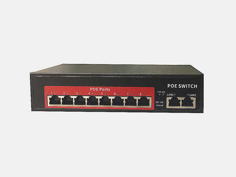 8ch porto poe switch ieee8023 at af