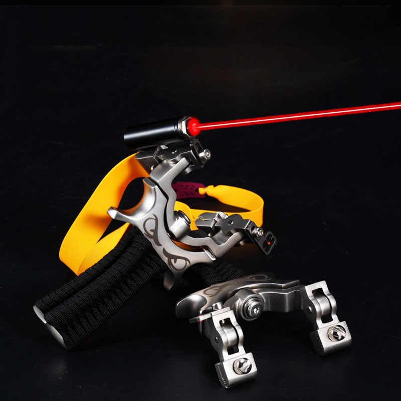 Outdoor Hunting Tool Professional Laser Slingshot Powerful Fishing Accessories