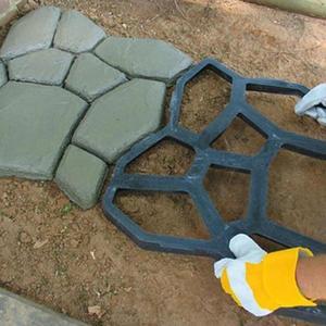 DIY формы для украшения сада, бетонные формы для дома, формы для бетонного покрытия камня, дороги, сада, пола, тротуарной дороги A8A7