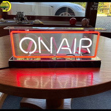 On Air Neon Sign Board Handmade Neon Wall Signs for Room Decor Game Room Girls Pub Hotel Recreational Game Window Beer Wall Lamp