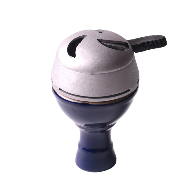 Ceramic Vortex Shisha Hookah Bowl Diameter 7cm Height 8cm 2 Colors with Holes in the Top Tower Advanced Version of the Phunnel (18)