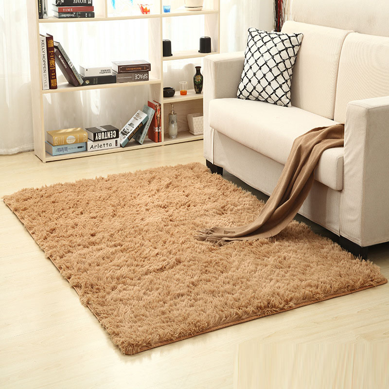 200cm * 300cm 13 Color Living Room/bedroom Wool Rug Antiskid Soft  Carpet Carpet Gray White Black Brown Pink Purpule Mat