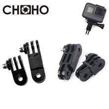 Long & Short Adjust Arm Straight Joints 3 Way Mount For Gopro Hero 9 8 7 6 5 SJCAM Xiaomi