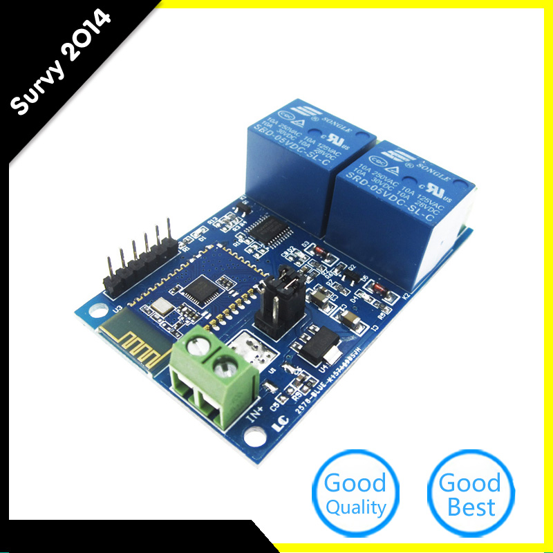 5V 2Channel Bluetooth Relay Module Smart Home Mobile APP Remote Control Switch Dual WiFi Module Diy Electronics