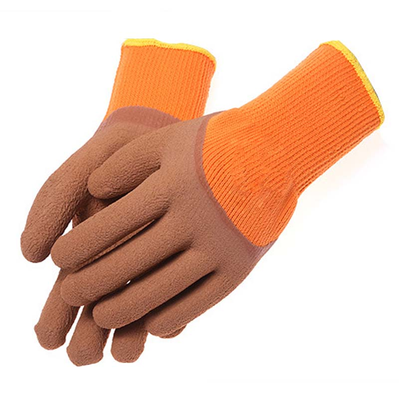 Semi-hanging Rubber Gloves Wear-resistant Anti-slip General Working Protective Gloves