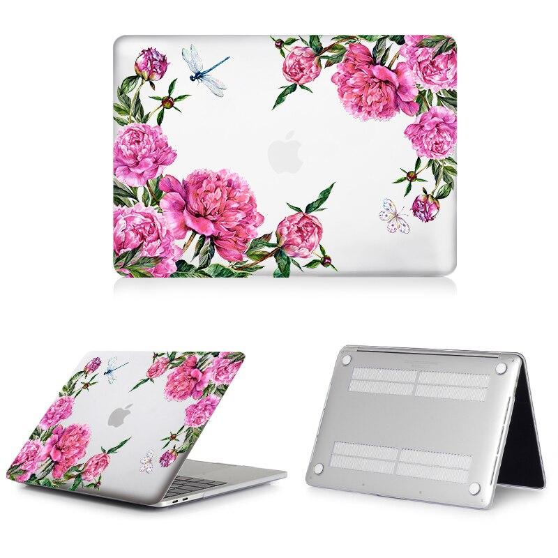 Image 5 - MTT flor cristal caso para Macbook Air Pro Retina, 11 12 13 15 16 Touch Bar para libro de mac air 13,3 pulgadas a1932 manga del ordenador portátilcase for macbook procases for macbooklaptop bag cover -