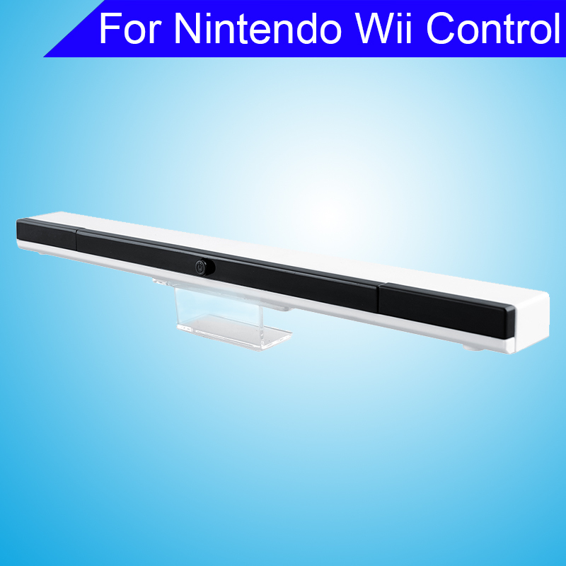 Wireless Infrared Sensor Bar Extended Play Range For Wii Video Game Console Gamepad Gaming Controller Replacement Sensors