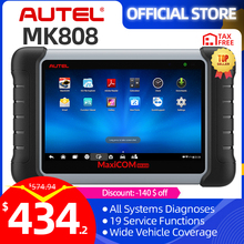 Autel MaxiCOM MK808 lecteur de Code, outil de Diagnostic automatique de voiture, lecteur de Code, outil OBD2, programmation de clé PK MX808