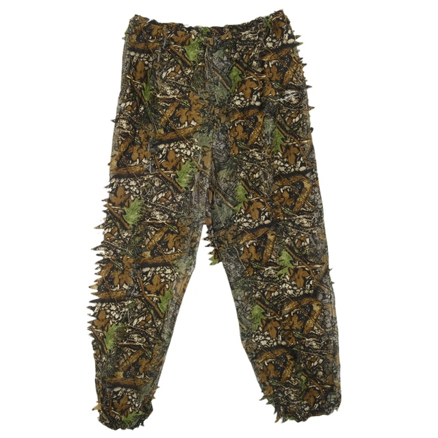 3D Leaf Adults Ghillie Suit Woodland Camo/Camouflage Hunting Deer Stalking in 3