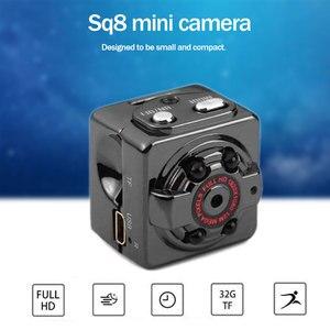 Image 5 - SQ8 Mini HD akıllı kamera 1080p 720P çift kayıt modu mikro kablosuz kamera gece görüş kamera küçük Minicamera Microchamber DVR